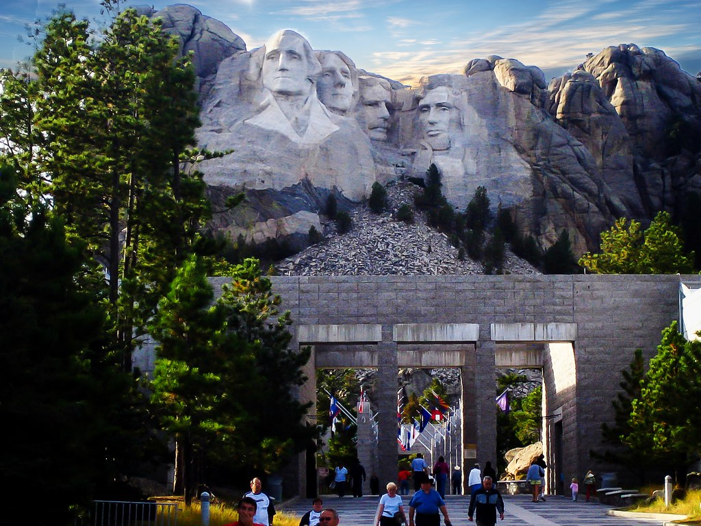 Mount Rushmore Black Hills South Dakota