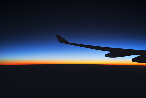 Flying through the sunrise | by Lenny K Photography