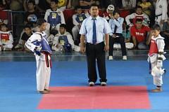 [FINAL SUPER CADET] MALE -31kg | TASIK OPEN 5_2015 Taekwondo Kab. Kuningan | M. Hafidz gold medal