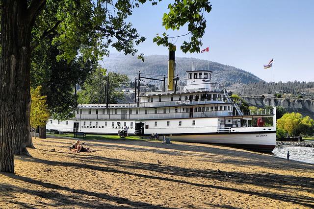 Sternwheeler SS Sicamous at Okanagan Lake Park, Penticton