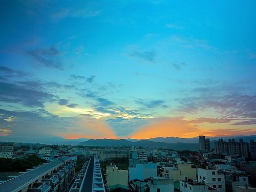 2015 oct 十月 10 c2 twilight glow 深耕九 sunrise 深耕9 日出 8f weather