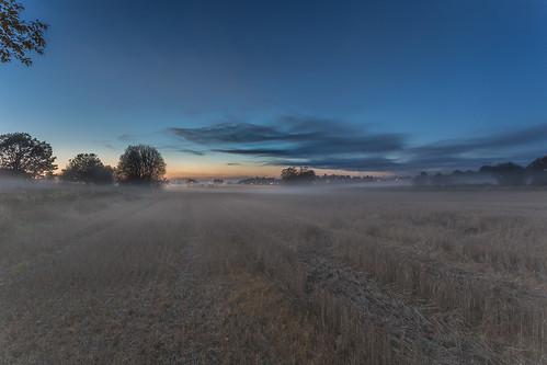 longexposure sunset mist weather norway fog twilight haze no fields bluehour hazy tønsberg vestfold olsrød presterød