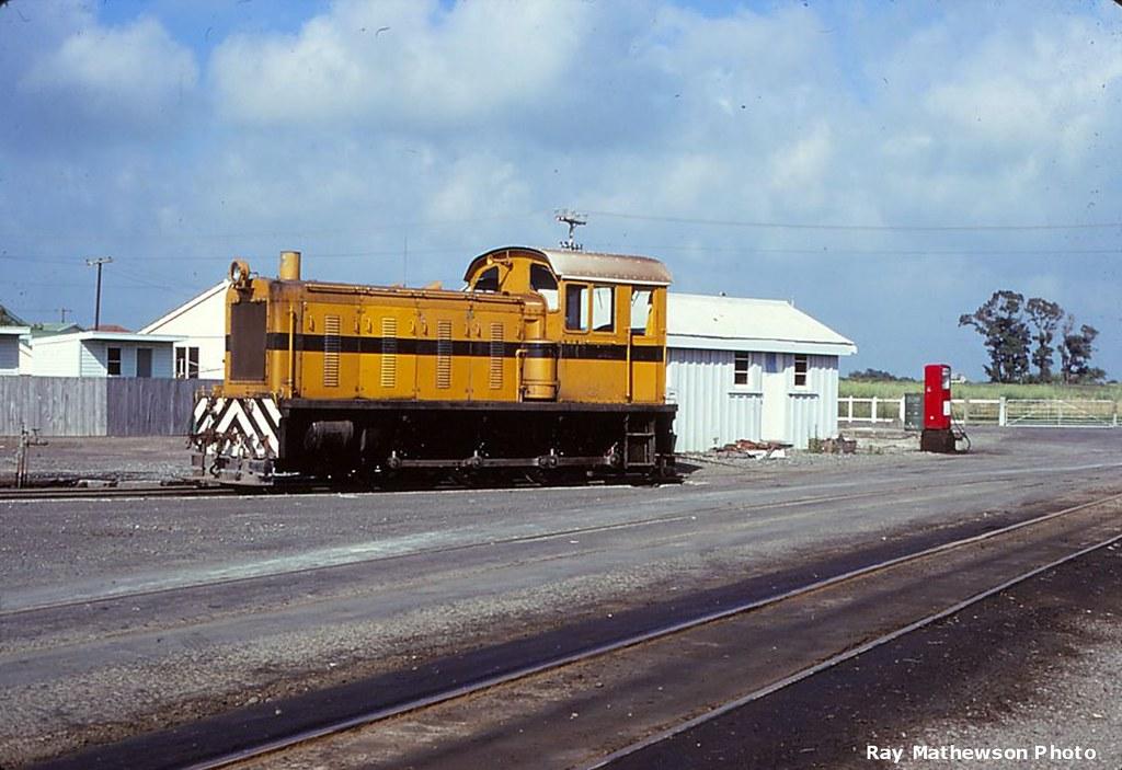 Whakatane Board Mills loco Jan 1970