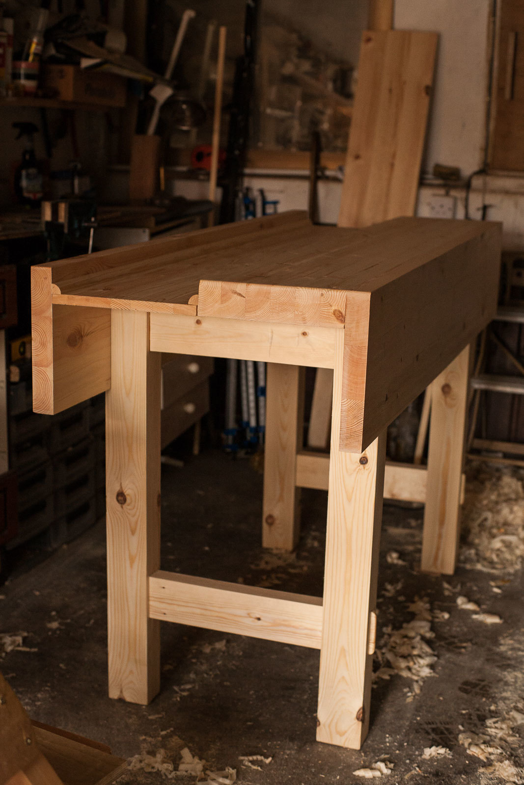 The Finished Workbench Paul Sellers Style Flickr Photo