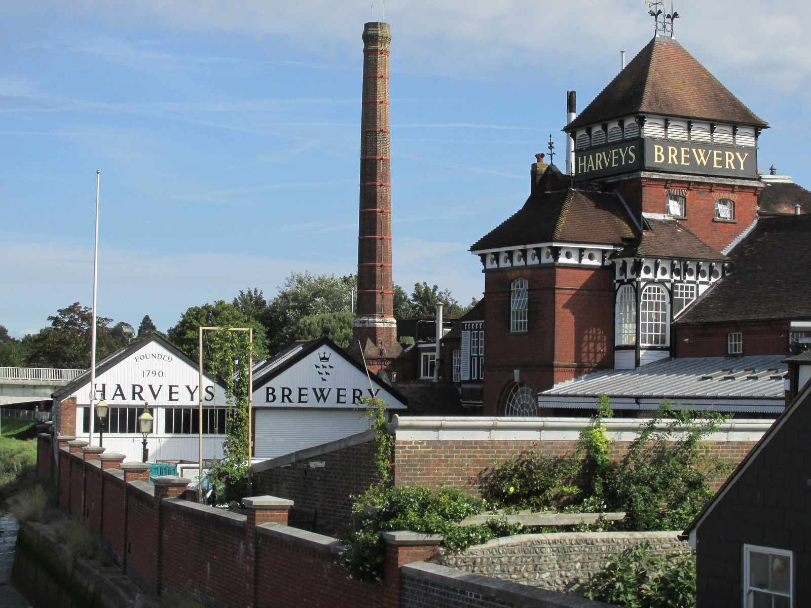 August 29, 2015: Lewes to Seaford Harveys Brewery