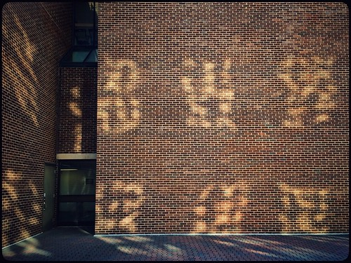 door windows sunlight window glass wall architecture reflections landscape pattern patterns bricks cellphone brickwall paving delaware 365 newark phonephoto urbanlandscape apps iphone everydayobject ipad universityofdelaware windowreflections phoneography iphoneography ipaddarkroom snapseed windowwednesdays iphone5s newwallwednesday