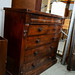 Antique darkwood chest