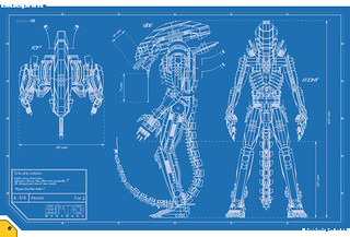ALIEN Project Book - Blueprint | by The Arvo Brothers