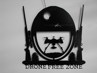 drone free zone | by providencemetalart
