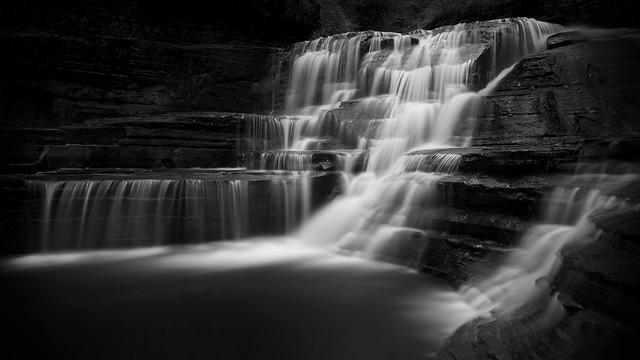 Waterfall, Enfield Creek