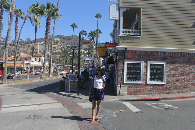 On the streets of CAtalina