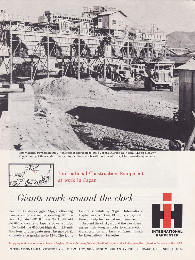 1961 International Payhauler Mining Truck Ad - USA   Flickr
