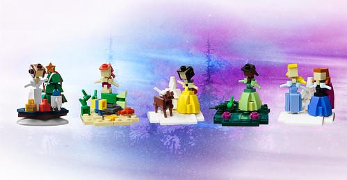 Disney Princess Christmas Ornaments | by roΙΙi