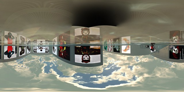 CLICK ON IT ! Nitroglobus Roof gallery 360º panoramic photo.