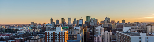 Good Morning Edmonton Cityscape | by JAG Creeations
