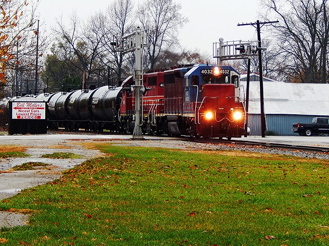 CF&E switching at Decatur Indiana