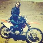 :heart:️ Gettin Dirty #dirtbike #honda #blonde #funfriday