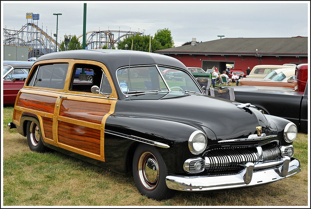 1950 Mercury Woody Station Wagon