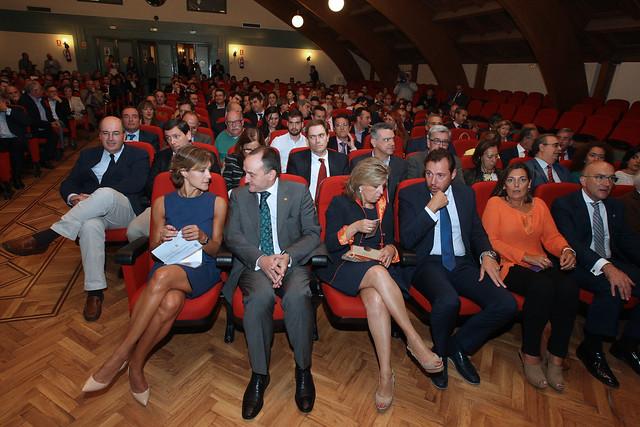 La UVa celebra , con la presencia de la ministra de Agricultura, el acto de agradecimiento a las empresas e instituciones con las que colabora
