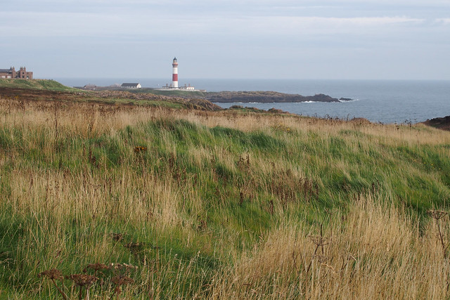 View back to Boddam