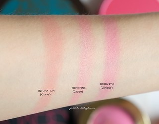 Pink blushes swatches3   by <Nikki P.>