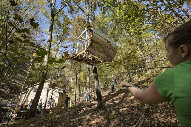 Ewok Tree House, Davidson County, Tennessee 4