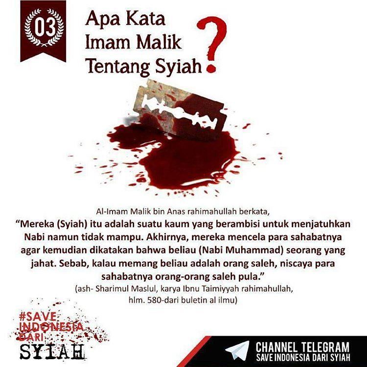 Apa Kata Imam Malik Tentang Syiah At Saveindonesiadarisyiah