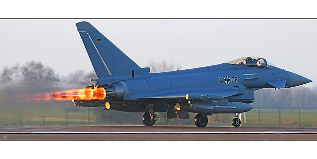 Burning hot Morning - Typhoon Luftwaffe