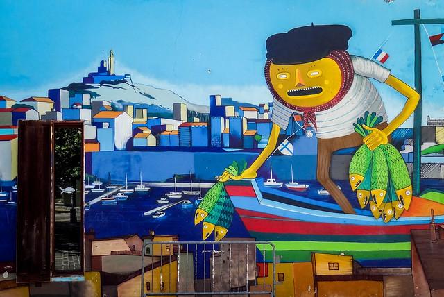 Quartier du Panier - Une galerie d'art à ciel ouvert