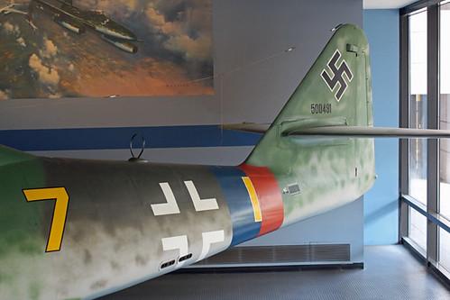 Messerschmitt Me 262 Tail section