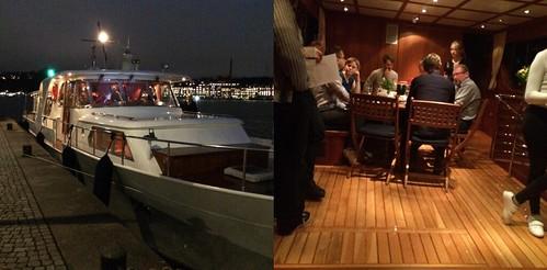 Jobbkonferens: Båten (stulna bilder från chefens Instagram)