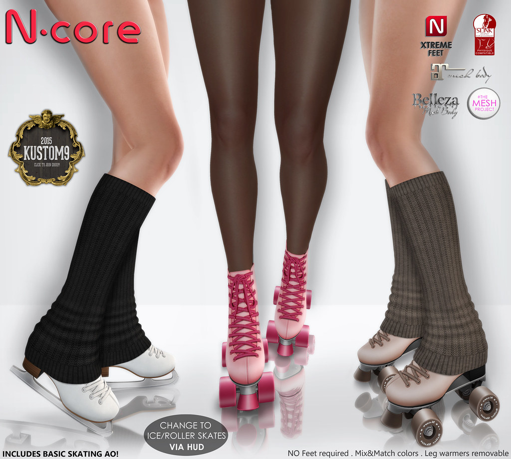 N-core Skates (Ice&Roller) | N-core SKATES (fitted mesh) Com