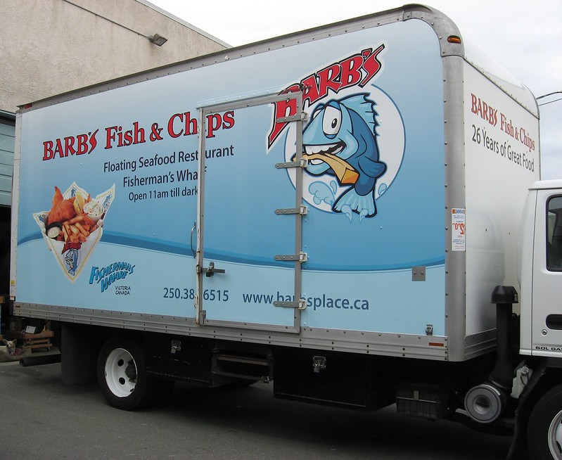 Barbs truck vehicle graphics