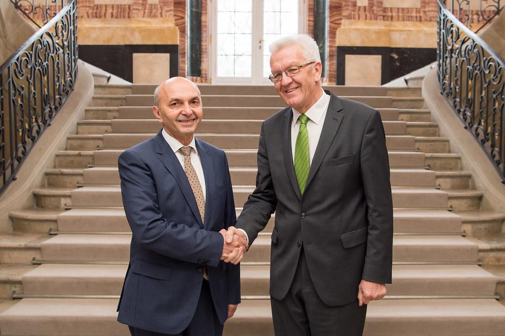 Besuch des kosovarischen Premierministers Mustafa