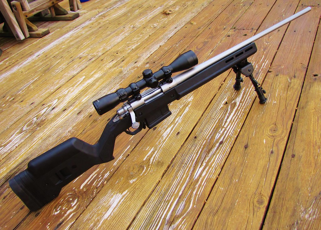 New stock for the 700 | Got the Magpul Hunter 700 stock for
