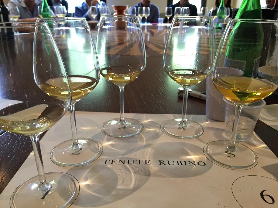 White Wine Tasting in Puglia, Italy