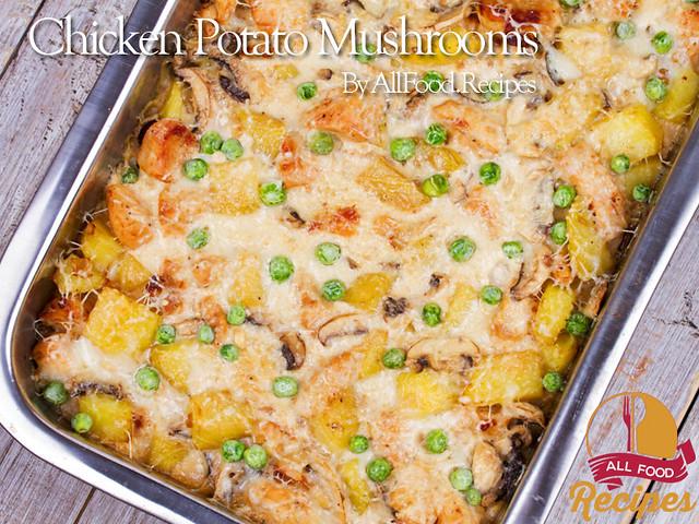 Chicken Potato Mushrooms 1