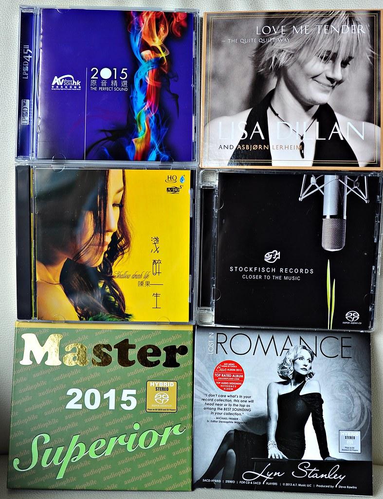 Audiophile CD   Bought in the 2015 Hong Kong AV Show   david
