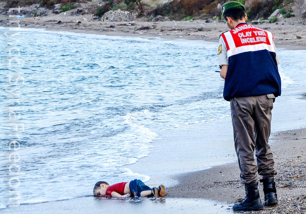 Aylan Kurdi Body