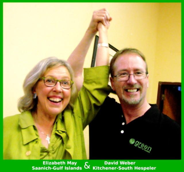 David Weber & Elizabeth May