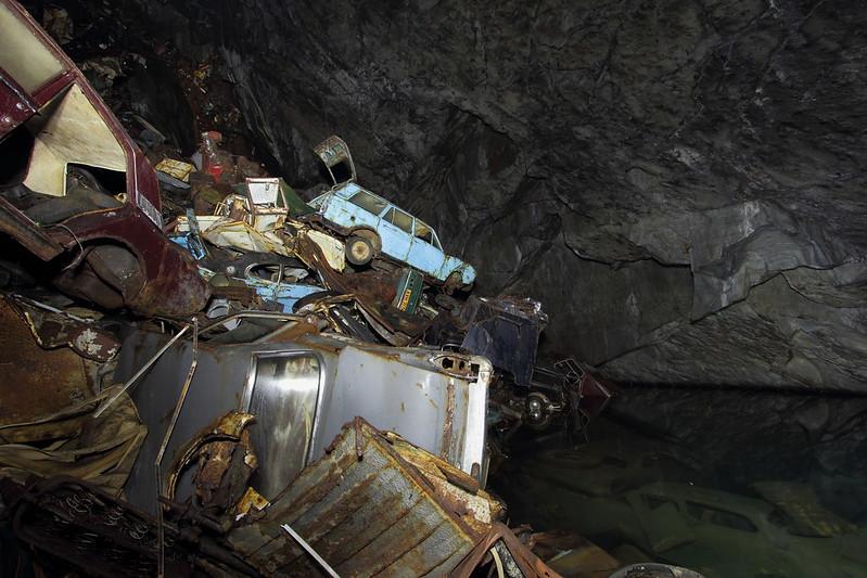 Caverna de las Almas Perdidas Gales