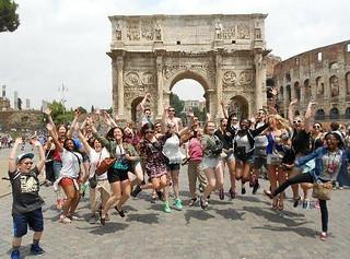 Mon, 10/05/2015 - 12:15 - GCC Study Abroad students in Rome