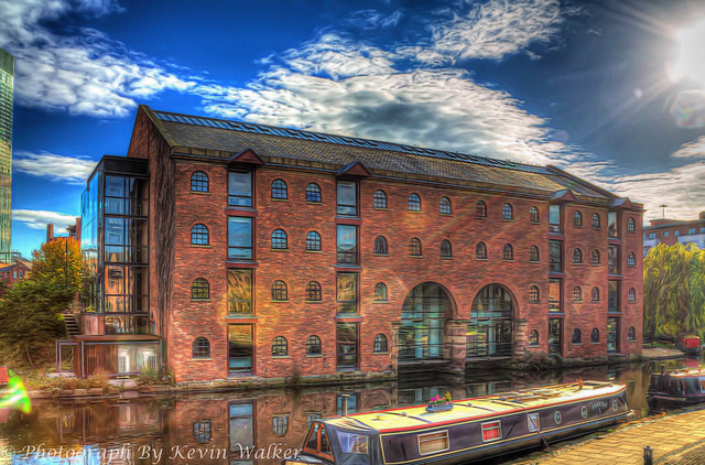 Castlefields Docks Warehouse