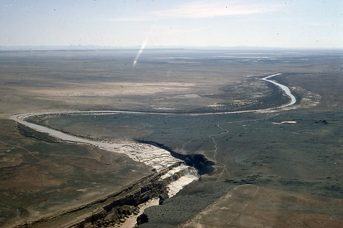 Little Colorado River's Grand Falls in flood | by azgeologicalsurvey