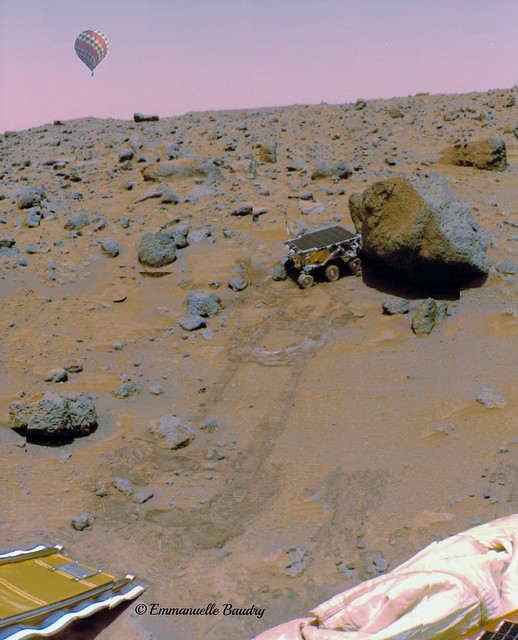 1er Voyage sur Mars - First trip on Mars