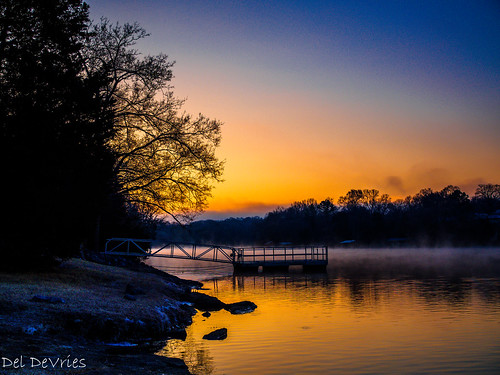 oldhickorylake tennessee wilsoncounty lake sunrise greenhill unitedstates us