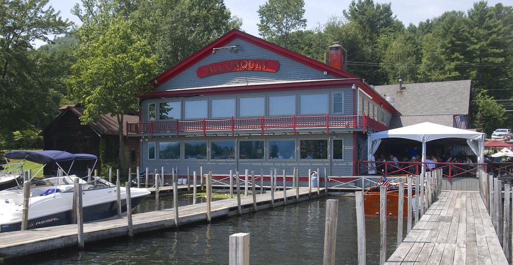 Algonquin Restaurant On Lake George At Bolton Landing Ny