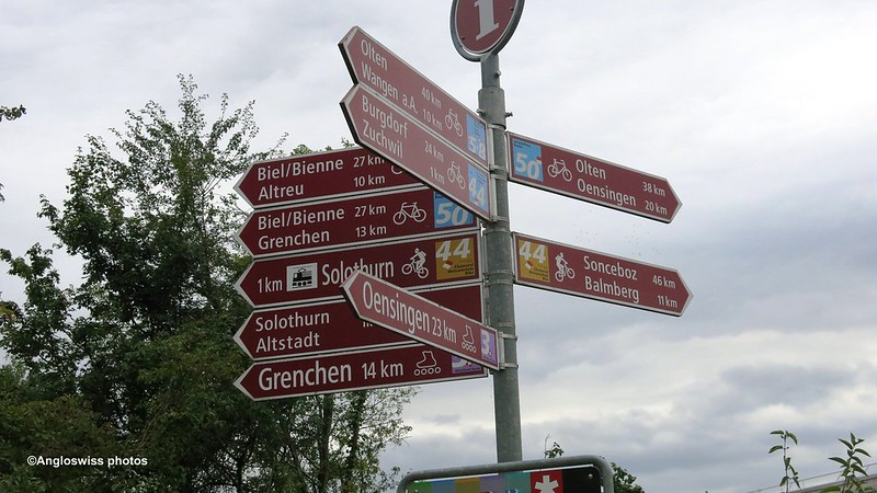 Signpost Solothurn