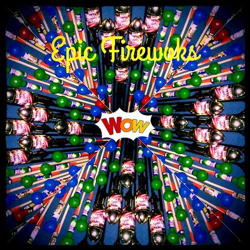 Big Rockets #EpicFireworks