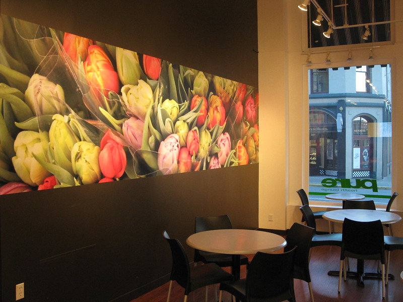 Digital print wall graphics